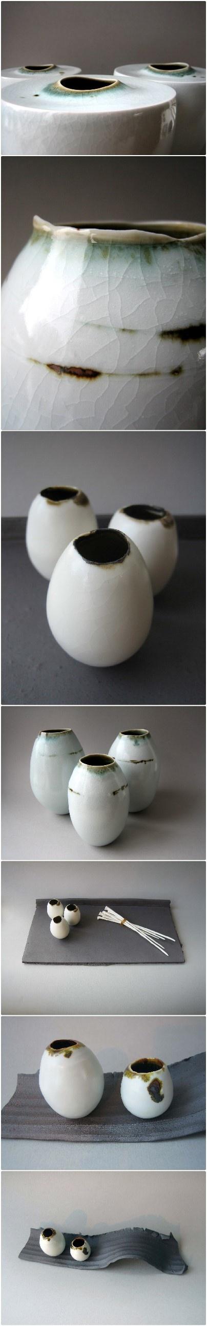 The wonderful works of Elaine Bolt, sensuous ceramics http://www.bilsandrye.com/elaine-bolt.html