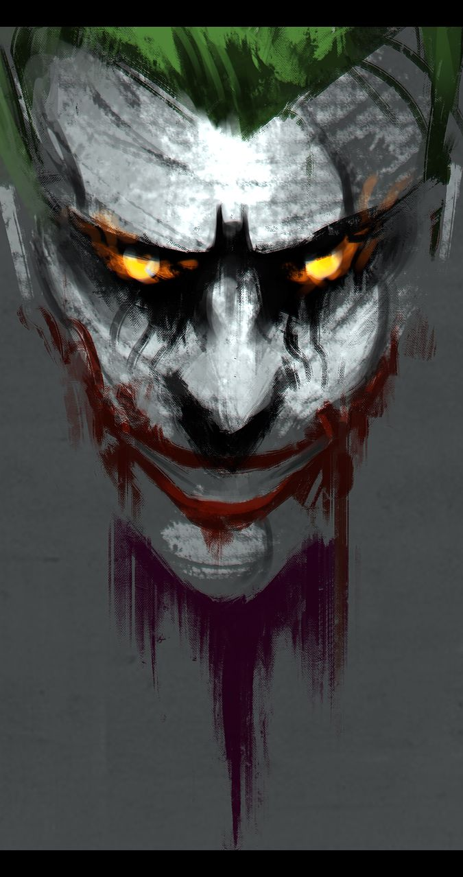 i painted a spoopy joker - Album on Imgur