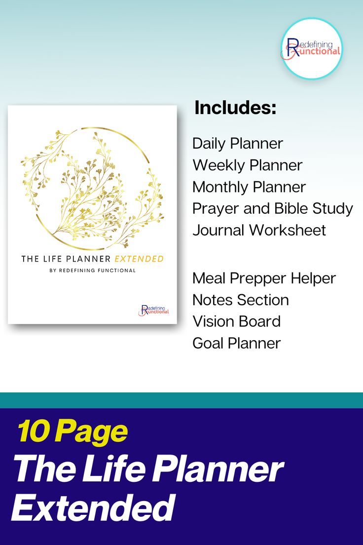 Life Planner Extended