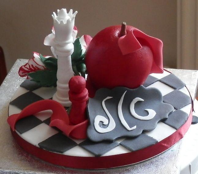 Realistic sizes fruit 'Apple'... #Apple, #Chess Pieces, #GumPaste #Flowers #Cake #Topper