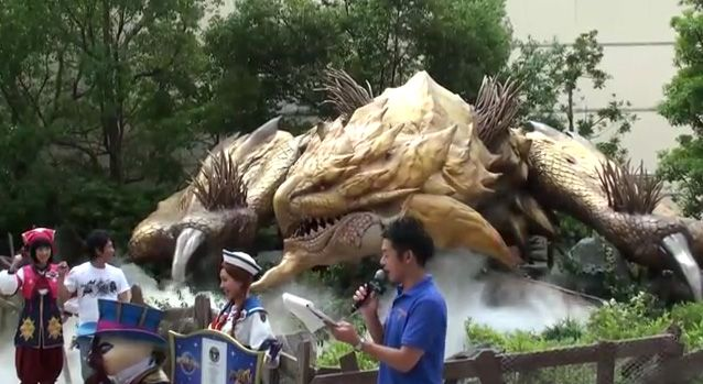 The Gold Rathian Measures About 20 Meters 66 Feet Long