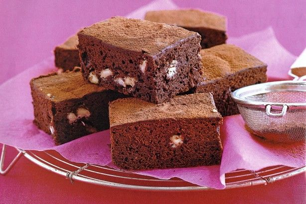 Combine dark and white chocolate to make these perfect low fat treats.