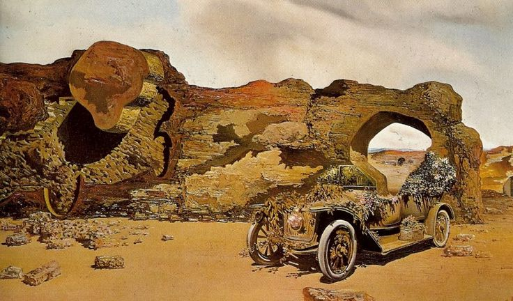 Solitude by Salvador Dali: