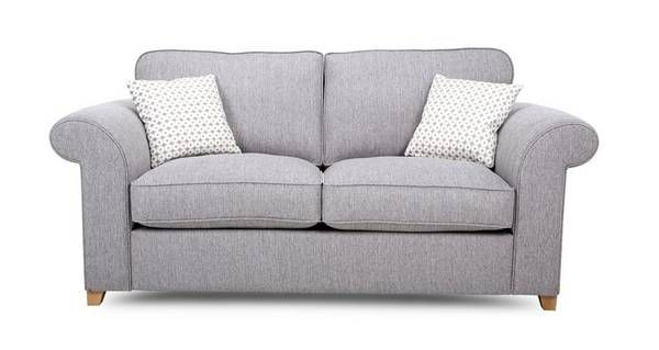 Angelic 2 Seater Deluxe Sofa Bed  | DFS