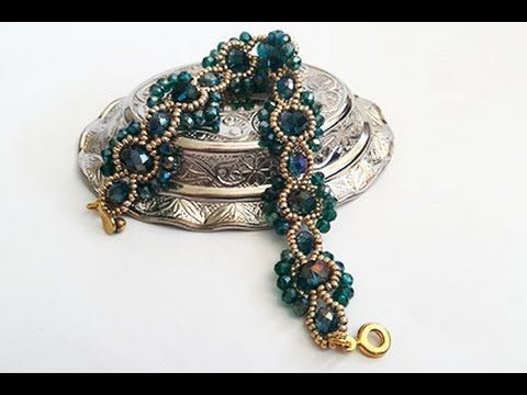 Fancy Seed Bead Weave 4 in 1 Tutorial - YouTube