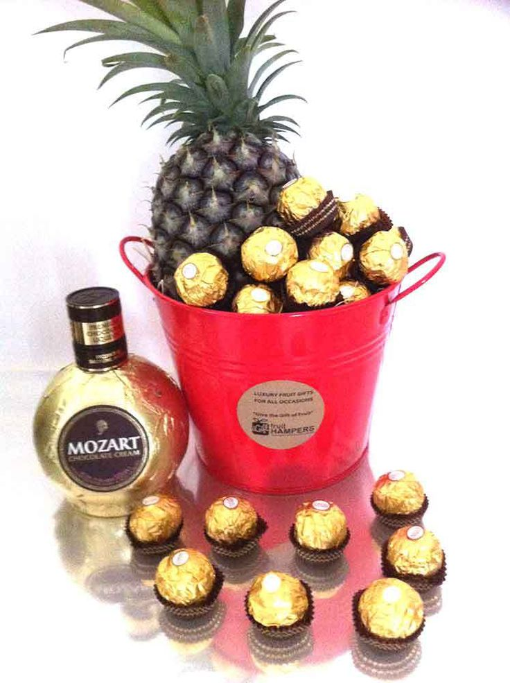 igiftFRUITHAMPERS.com.au - Mozart Chocolate Cream Gift Bucket   Chocolate   Pineapple - Free Delivery, $115.00 (http://igiftfruithampers.com.au/mozart-chocolate-cream-gift-bucket-chocolate-pineapple-free-delivery/)  The all occasions gifts perfect for Christmas, Birthday, Anniversary, Congratulations, Get Well, I Love You, Valentines or just because I'm thinking about you  http://igiftfruithampers.com.au/gift-buckets/  #giftbuckets #gifthampers #giftbasket #gifthamper #corporategifts…