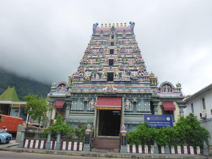 Hindu Tempel in Victoria auf Mahé
