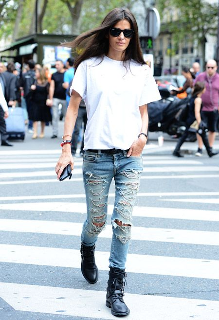 54 best How to wear: Ripped Torn Denim images on Pinterest ...