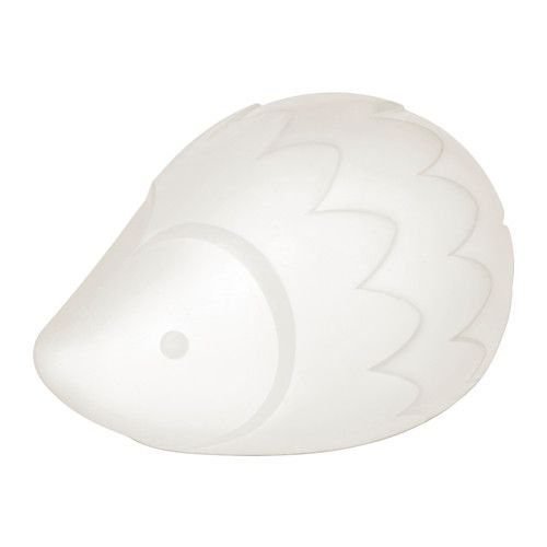 LURIGA LED night light, white, hedgehog - - - IKEA. Rechargeable and portable can go to bathroom or around room/house with baby! Love this $14.99