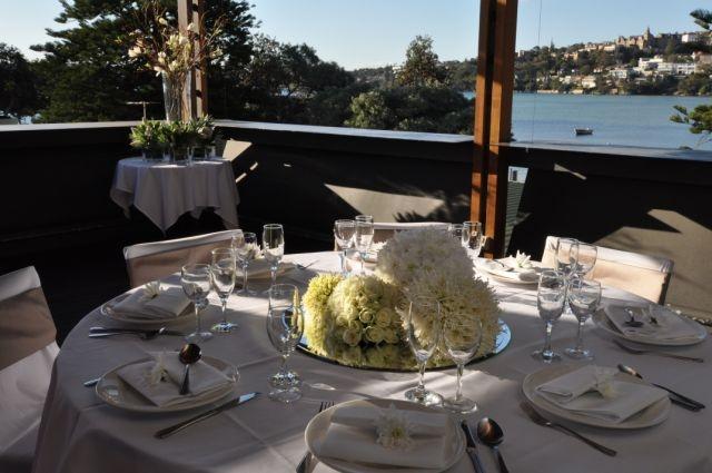 Weddings in the #Deckbarlounge  at #Clubrosebay . Styling by The Styling Company   www.clubrosebay.com.au