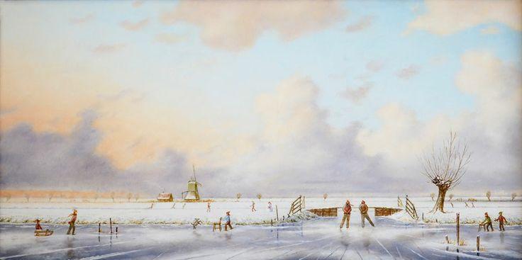 Ruud Verkerk, duch winterlandscape