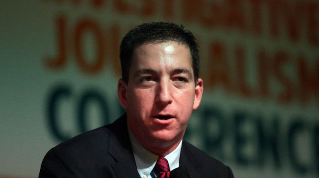 """Glenn Greenwald, the former Guardian journalist who has reported extensively on the National Security Agency's top secret surveillance programs revealed by Edward Snowden, on Thursday likened his defense of the former NSA contractor to MSNBC's coverage of the Obama administration because """"everyjournalist has an agenda."""""""