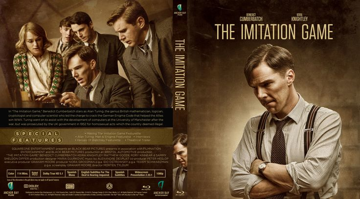 The Imitation Game Blu-ray Custom Cover
