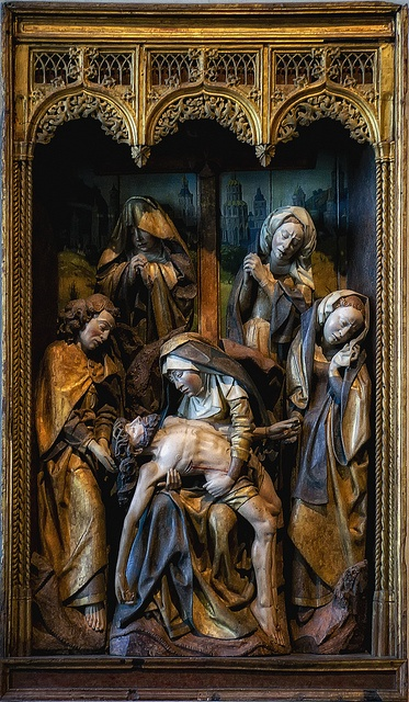The Lamentation From The Cloisters in New York City by Bill Conway, via Flickr