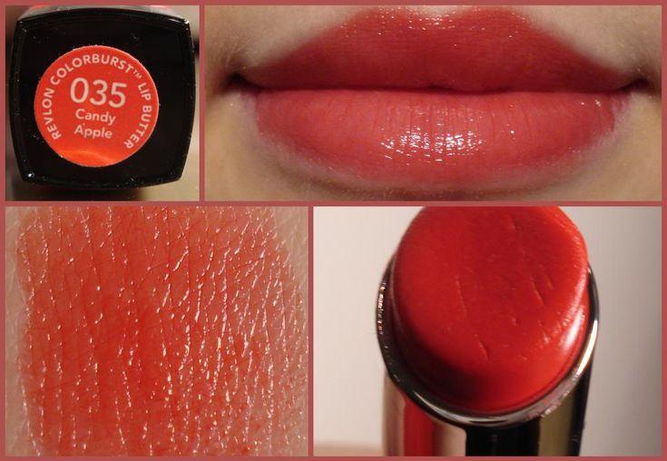 *Revlon Colorburst Lip Butter - Candy Apple / MakeUpWednesday