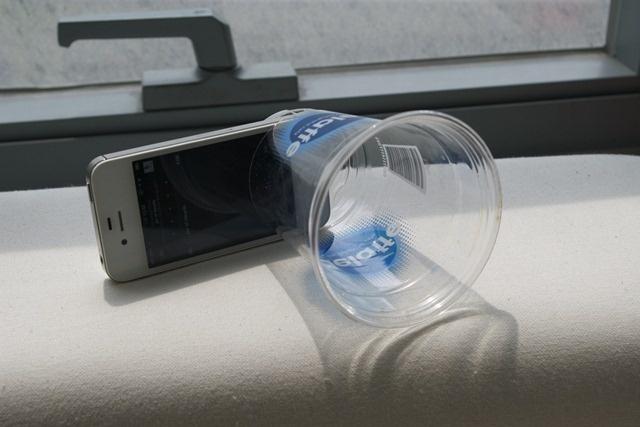 재활용공작 – 플라스틱컵 스피커, 명함 촬영용 거치대