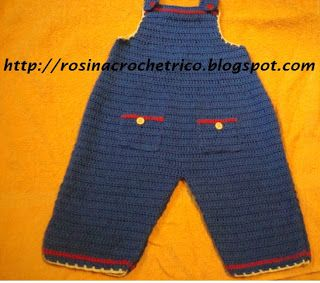 ROSINA CROCHE TRICO: JARDINEIRA INFANTIL- PAP