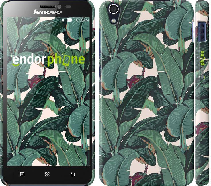 """Купить эксклюзивный чехол """"Банановые листья"""" для Lenovo S850 в интернет-магазине Endorphone"""