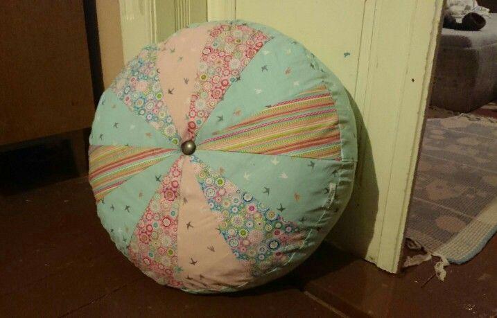 Colorfull pillow, nagy színes ülőpárna