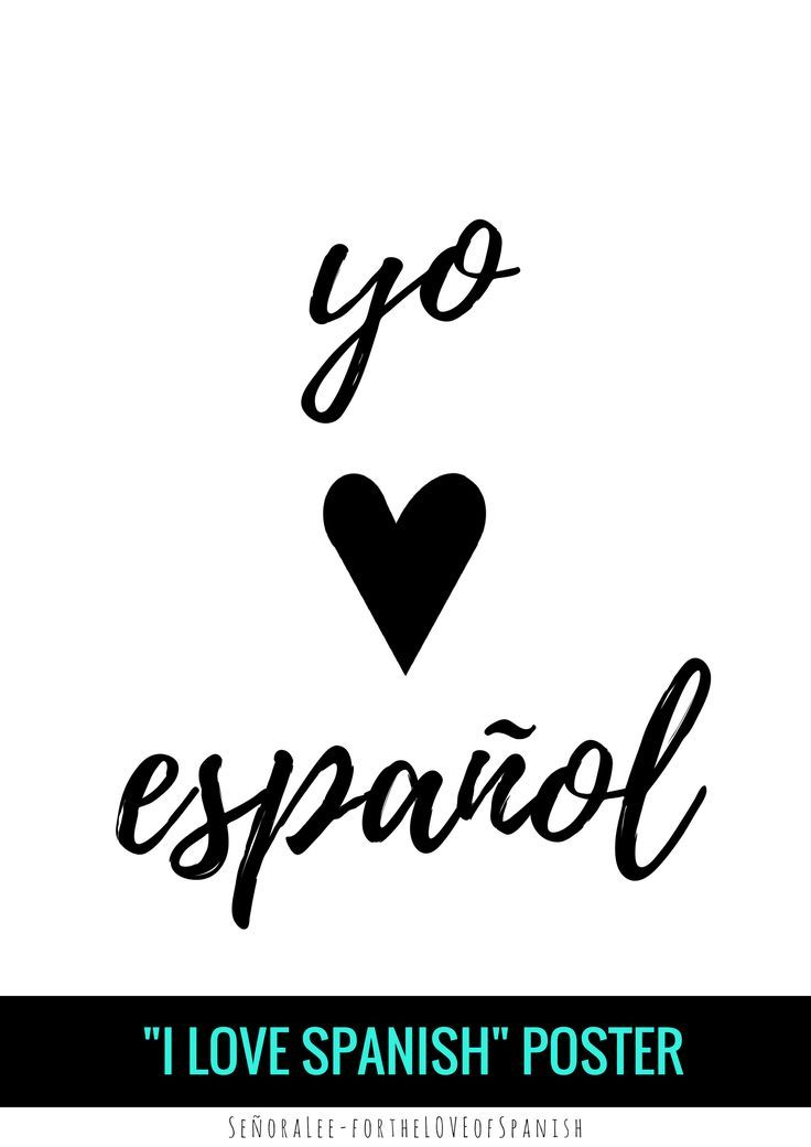 Spanish Love Quotes And Poems For Him Her: Best 25+ Spanish Posters Ideas On Pinterest