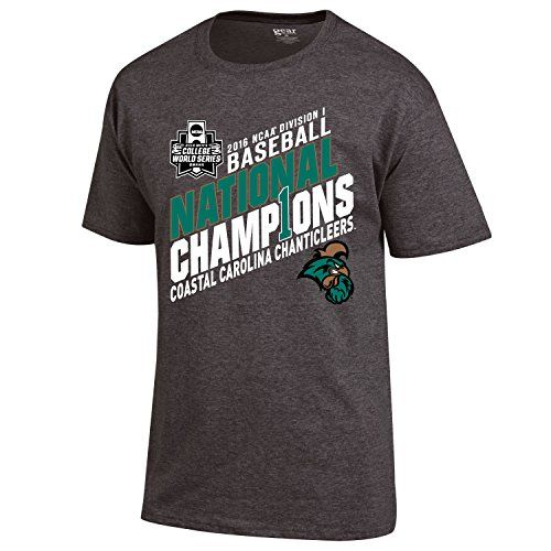 Coastal Carolina Chanticleers 2016 CWS Champs Baseball Locker Room T Shirt