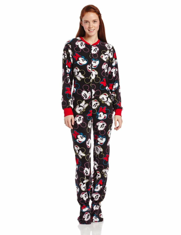 Lounge Around in Women's Novelty One-piece Pajamas. By combining the coziness of a warm blanket and the convenience of a casual outfit, women's novelty one-piece pajamas offer a .