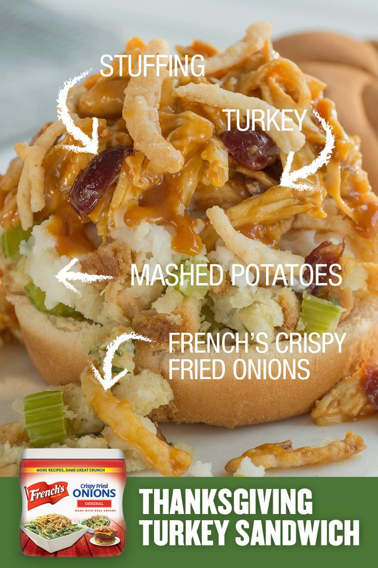 Top 25 ideas about thanksgiving recipes on pinterest for How to make leftover turkey sandwich