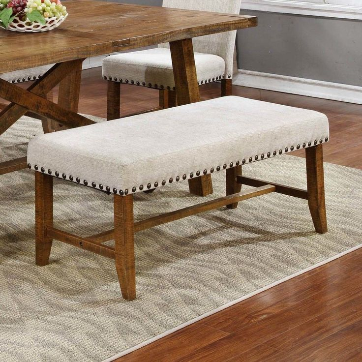Upholstered Dining Banquette Bench: 17 Best Ideas About Upholstered Dining Bench On Pinterest
