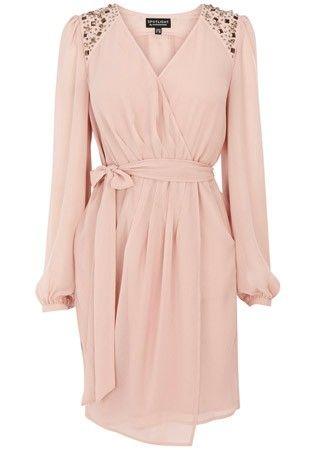 Warehouse long-sleeved dress, £75