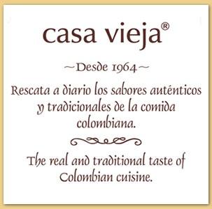 Casa Vieja. comida colombiana, en Bogota, Colombia.
