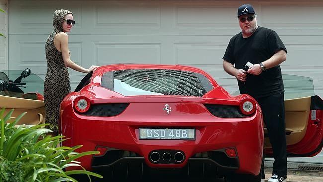 Ferrari today..nice car Kyle