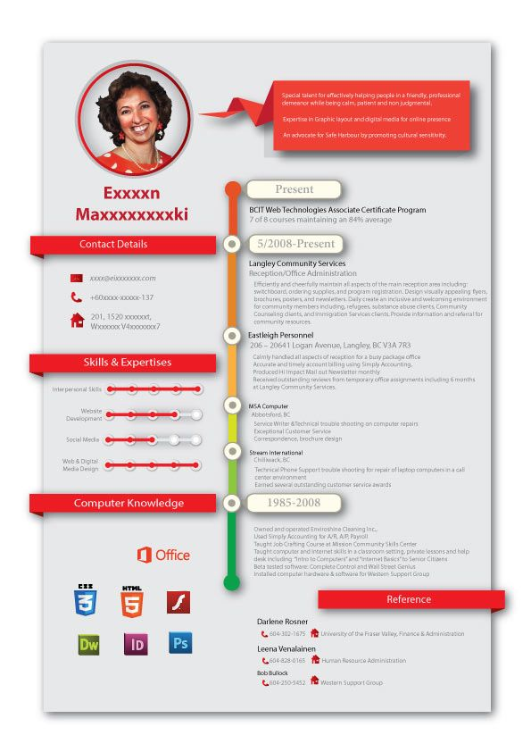 48 best infographic resume images on