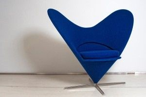 Heart-Shaped Cone Chair (Verner Panton, 1959)