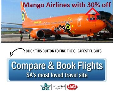 Easy Steps to Book online Cheap #Mango_Airlines Flights OR you can compare yourself to others.... http://www.sooperarticles.com/travel-articles/air-travel-articles/easy-steps-book-mango-airlines-flights-1437085.html