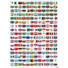 Flaggor affisch