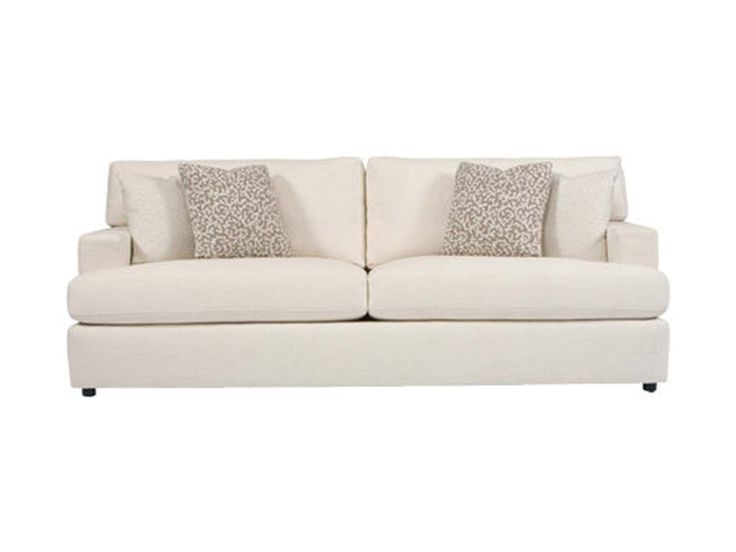 Elegant Looking Bernhardt Sofa Collection : Astonishing Bernhardt Ryden  Contemporary Stationary Sofa With Two Seat Cushion