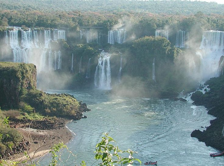 The Iguazu waterfalls are one of the biggest attractions in Brazil. Would you like to be here?  http://cosmictravel.net/brazil/packages/comprehensive/tours/rio-de-janeiro-iguassu-falls-tour-5-days-and-4-nights.html