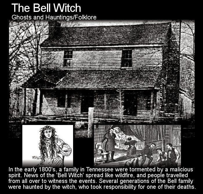 The Bell Witch Haunting The Shocking True Story | The Fortean Slip