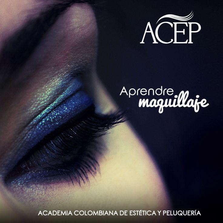 Una actividad cotidiana pero también productiva; por tanto puede convertirse en una gran oportunidad para lograr empleo. En ACEP somos conscientes de que tus primeros pasos deben estar guiados por la mejor compañía, ven y se parte de un futuro laboral con éxito garantizado.  #Aprende #Maquillaje #Belleza