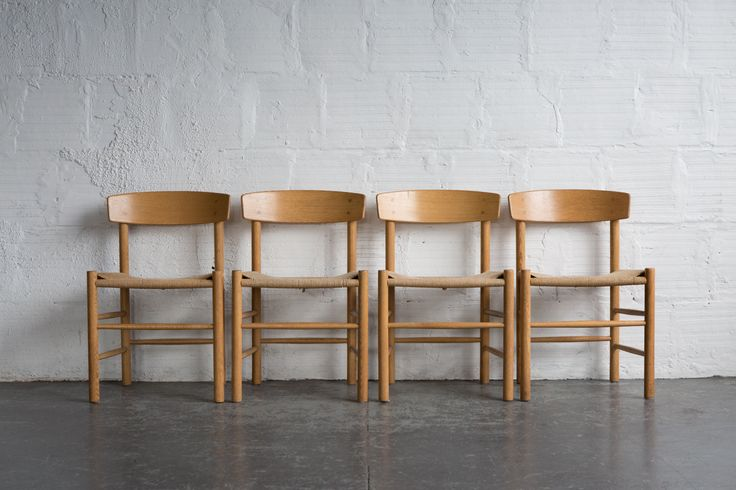 Borge Mogensen J-39 Dining Chairs (set of 6)