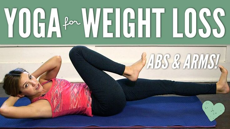 Yoga for Weight Loss - Abs & Arms
