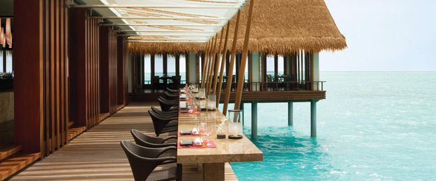 Tapasake, Island of North Malé Atoll, Maldives | 32 Restaurants With Spectacular Views
