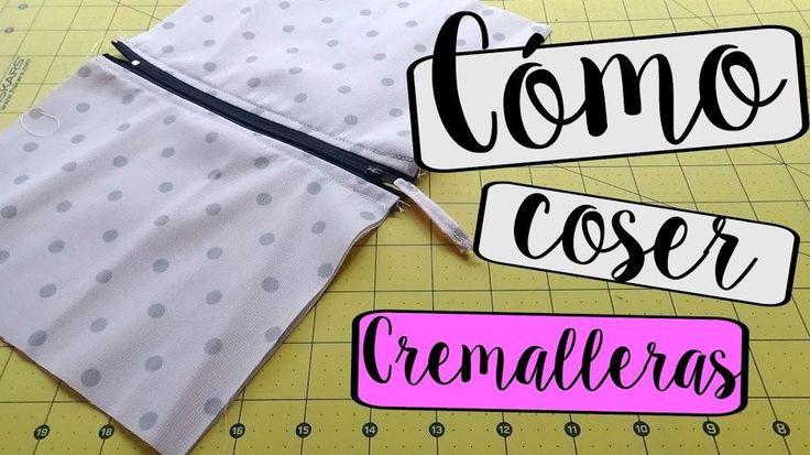 Algo básico en el mundo de la costura es saber poner cremalleras. ¿Aprendemos?