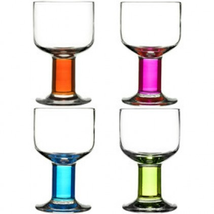 25 Best Ideas About Coloured Wine Glasses On Pinterest