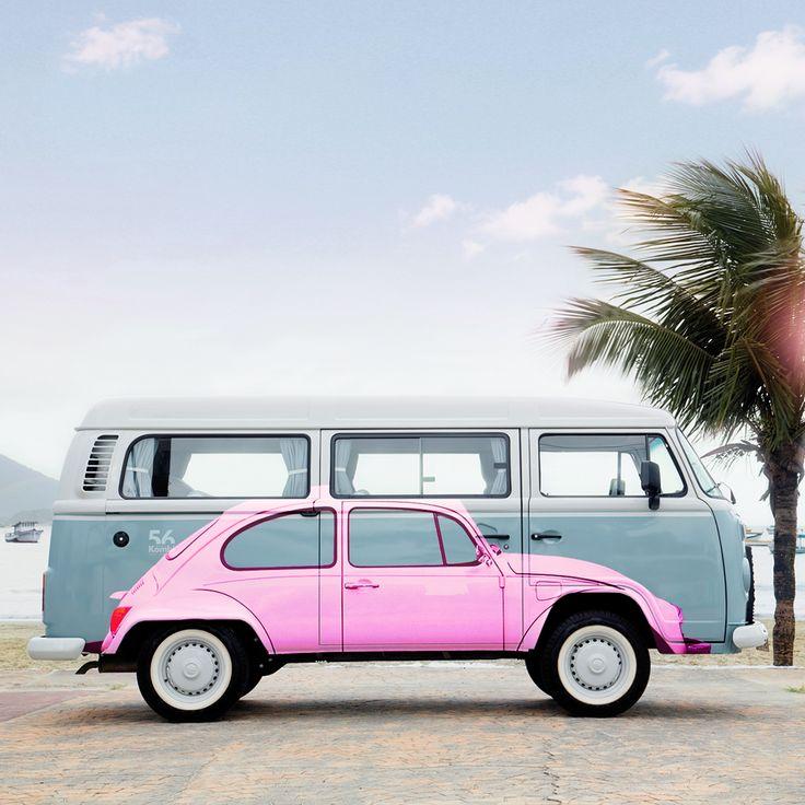 Best 25+ Pink beetle ideas on Pinterest | Pink volkswagen ...