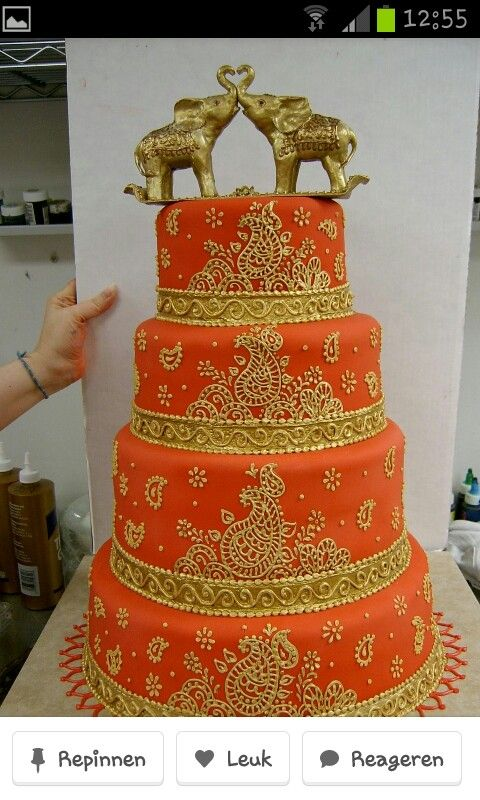 Mehendi orange cake