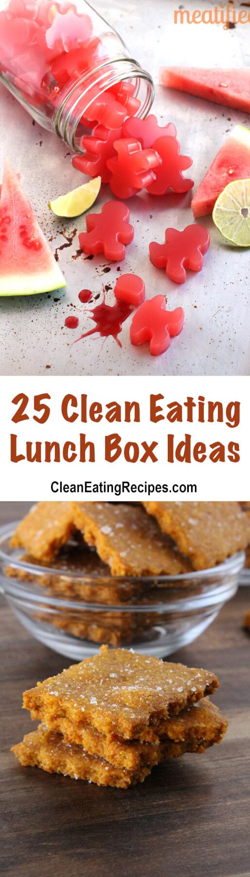 I have tons of clean eating lunch box ideas and clean eating recipes for kids lunches of all ages to take to school this year.