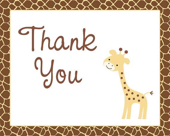 : Shower Ideas, Js Shower, Giraffes Invitations, Baby Giraffes, Giraffes Ideas, Folding Cards, Thanks You Cards, J S Shower, Giraffes Baby Shower