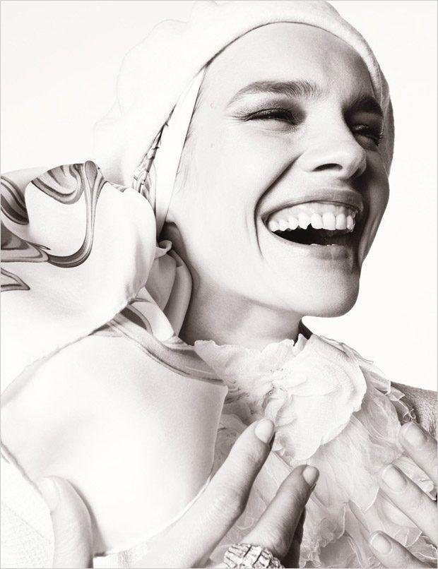 Наталья Водянова в W Magazine (Интернет-журнал ETODAY)