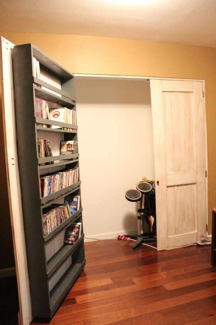 Closet Door and DVD Storage - Best 10+ Dvd Storage Solutions Ideas On Pinterest Dvd Wall Shelf